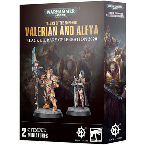 Talons of the Emperor - Valerian and Aleya (Warhammer 40k) :www.mightylancergames.co.uk