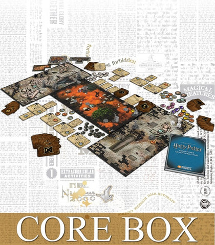 HARRY POTTER MINIATURES ADVENTURE GAMES CORE BOX 2nd edition