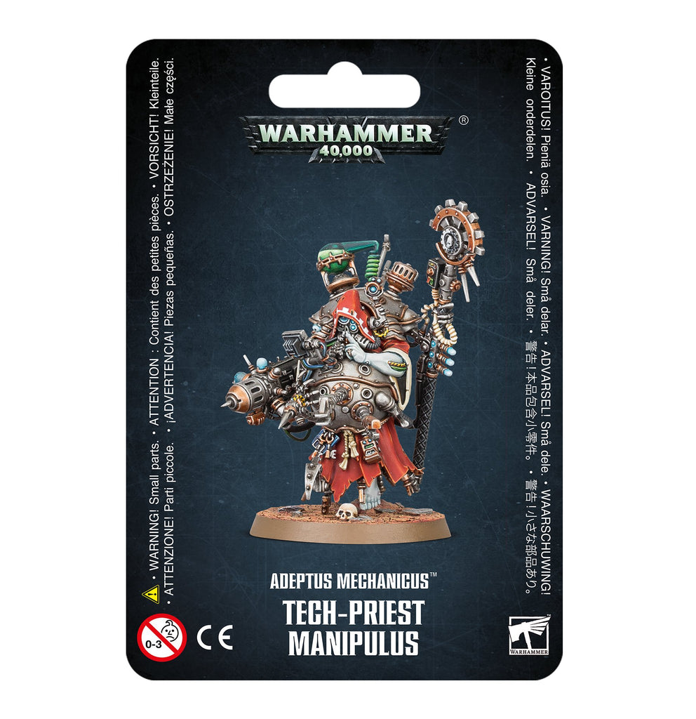 Tech-Priest Manipulus - Adeptus Mechanicus (Warhammer 40k)
