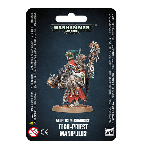 Tech-Priest Manipulus (PRE-ORDER  for 6th June) - Adeptus Mechanicus (Warhammer 40k)
