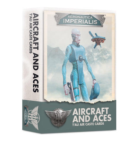 Aircraft and Aces – T'au Air Caste Cards - Aeronautica Imperialis