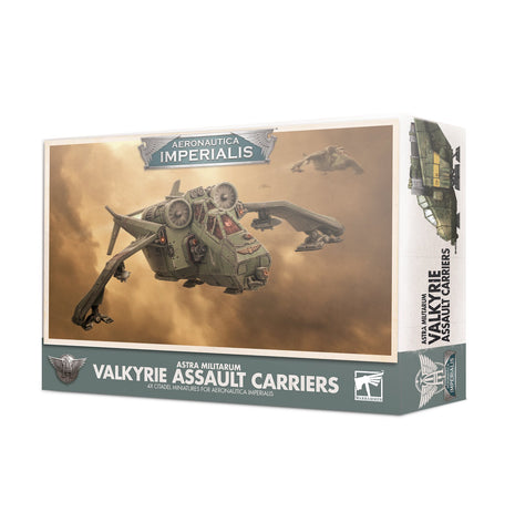 Valkyrie Assault Carriers - Aeronautica Imperialis