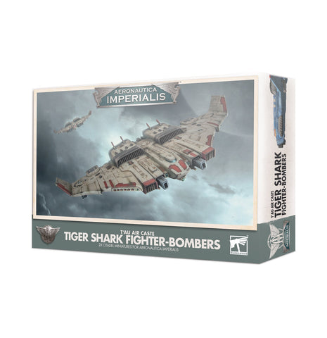 T'au Air Caste Tiger Shark Fighter-Bombers - Aeronautica Imperialis
