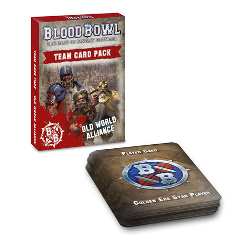 Old World Alliance Team Card Pack (Blood Bowl)  ***Preorder for 11th July 2020***