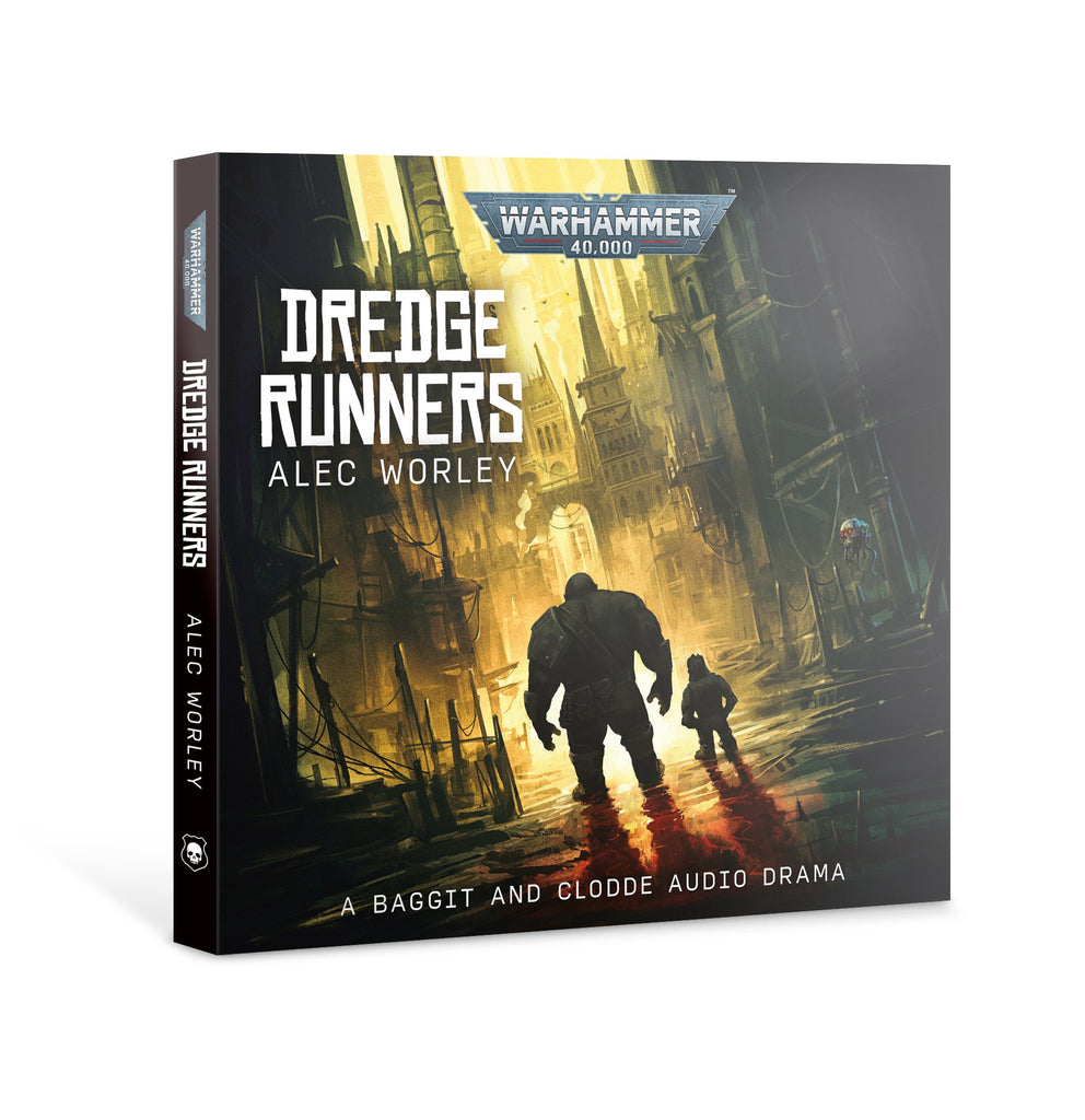 Dredge Runners (Warhammer 40,000 Audiobook - CD) **Pre-Order for 8th August 2020)