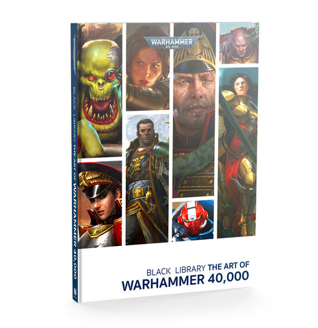Black Library: The Art of Warhammer 40,000 (Hardback) **Pre-Order for 8th August 2020)