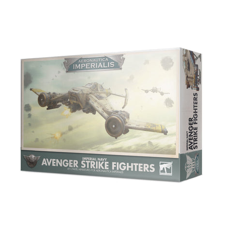 Imperial Navy Avenger Strike Fighters - Aeronautica Imperialis