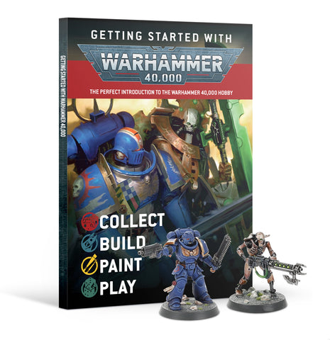 Getting Started With Warhammer 40k (Warhammer 40k) ***Preorder for 10th October*** :www.mightylancergames.co.uk