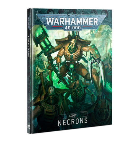 Codex - Necron (Warhammer 40k) ***Preorder for 10th October*** :www.mightylancergames.co.uk