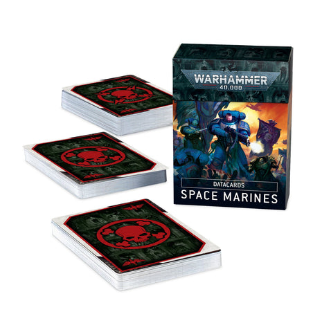 Datacards - Space Marines (Warhammer 40k) ***Preorder for 10th October*** :www.mightylancergames.co.uk