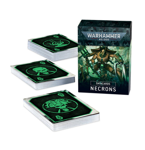 Datacards - Necron (Warhammer 40k) ***Preorder for 10th October*** :www.mightylancergames.co.uk