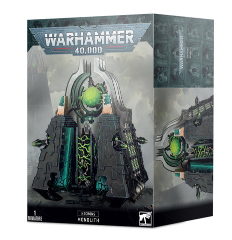 Monolith - Necrons (Warhammer 40k)  :www.mightylancergames.co.uk