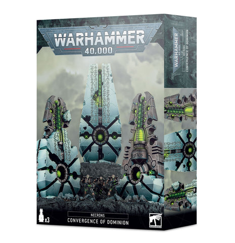 Convergence of Dominion - Necrons (Warhammer 40k) ***Pre Order 24th of October*** :www.mightylancergames.co.uk