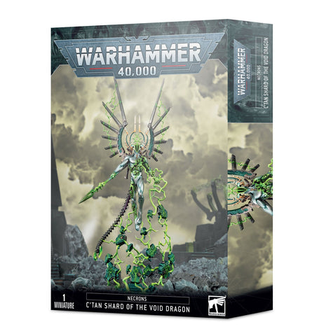 C'tan Shard of the Void Dragon - Necrons (Warhammer 40k) ***Pre Order 24th of October*** :www.mightylancergames.co.uk