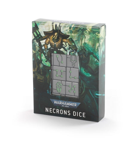 Necron Dice (Warhammer 40k) ***Preorder for 10th October*** :www.mightylancergames.co.uk
