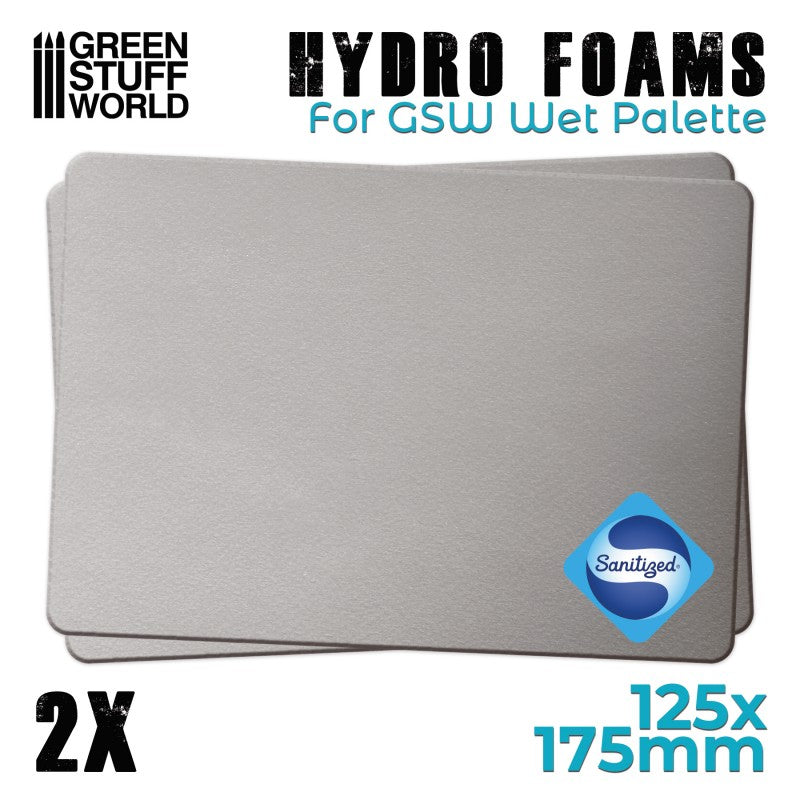 Hydro Foams for Wet Palette (10184) -  GSW