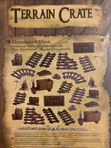 Abandoned Mine - Terrain Crate :www.mightylancergames.co.uk