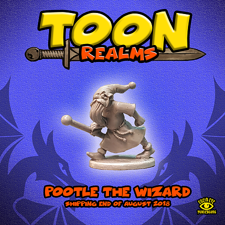Pootle The Wizard - Toon Realms: www.mightylancergames.co.uk