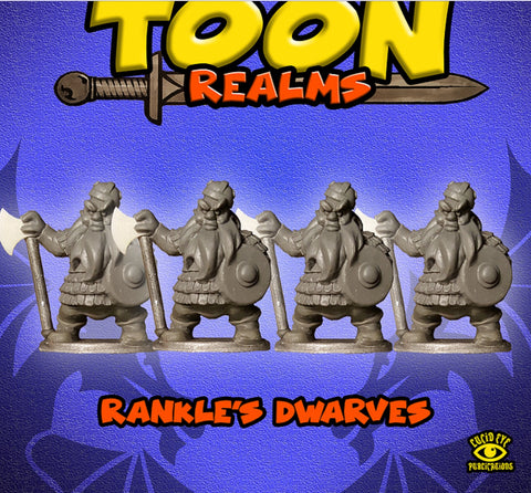 Rankles Dwarves - Toon Realms: www.mightylancergames.co.uk