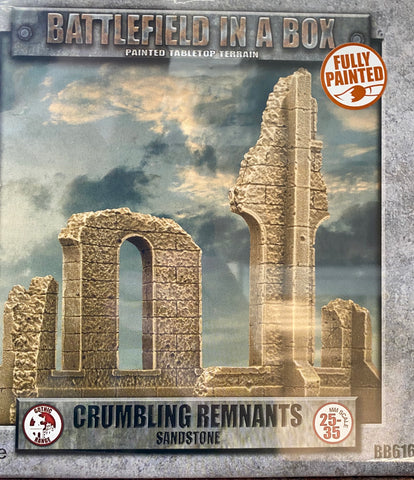 Battlefield in a Box: Crumbling Remnants Sandstone (BB616)
