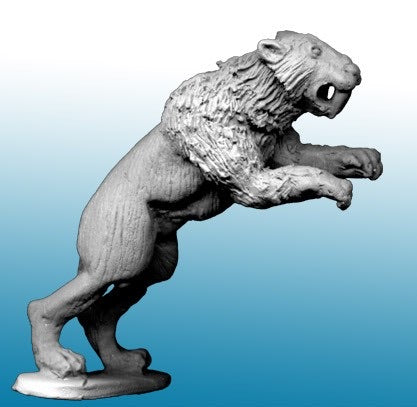 North Star Military Figures: Sabre Tooth Tiger Leaping -MP34