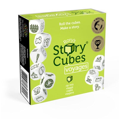 Rory' Story Cubes - Voyages: www.mightylancergames.co.uk