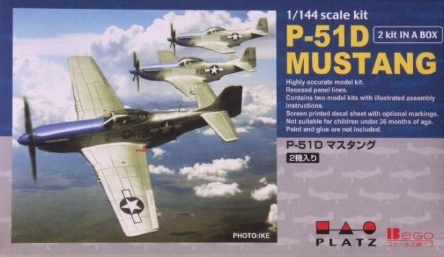 Platz/Bego 1/144 - P-51D Mustang: www.mightylancergames.co.uk