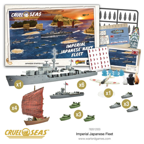 Cruel Seas - Imperial Japanese Fleet: www.mightylancergames.co.uk