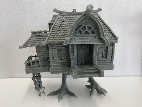 UNBOXED - 77937 - Baba Yaga's Hut (slight damage)