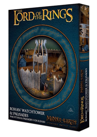 Rohan™ Watchtower and Palisades - Middle-Earth Strategy Battle Game