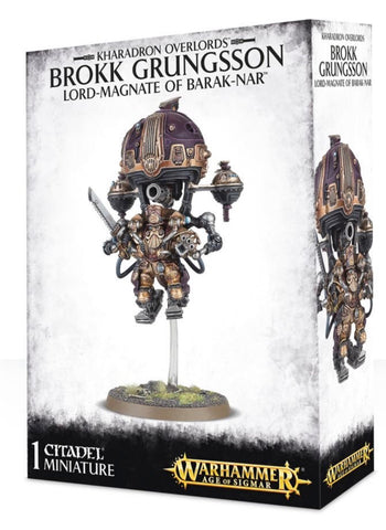 Brokk Grungsson, Lord-Magnate of Barak-Nar (Kharadron Overlords - Age of Sigmar)