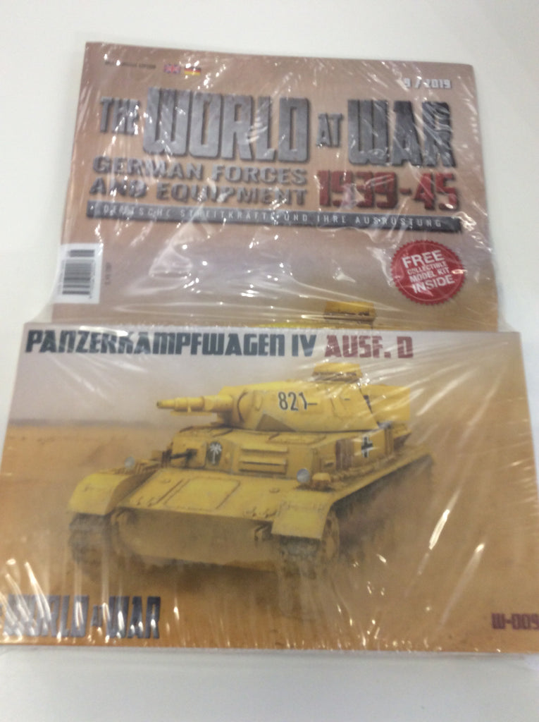 World at War 1:76 - Magazine and Model Panzer IV AUSF.D