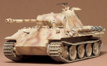 Tamiya 1/35 - Panther Ausf. A: www.mightylancergames.co.uk