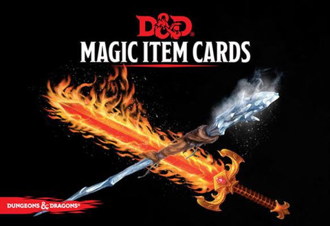 Magic Item Cards (D&D 5th Edition)