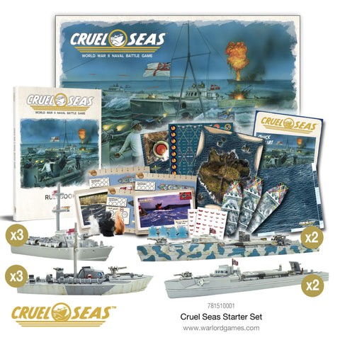 Cruel Seas - Starter Set: www.mightylancergames.co.uk