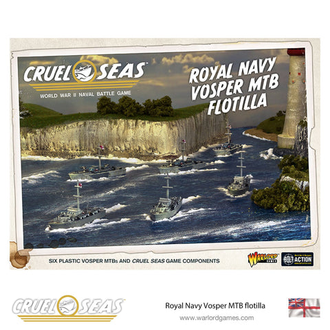 Cruel Seas - Royal Navy Vosper MTB Flotilla: www.mightylancergames.co.uk