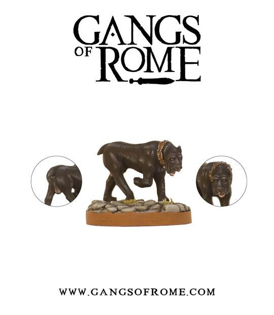 Fierce Mastiff - Gangs of Rome: www.mightylancergames.co.uk