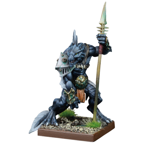 Placoderm Defender - Trident Realm (Kings of War & Vanguard) :www.mightylancergames.co.uk