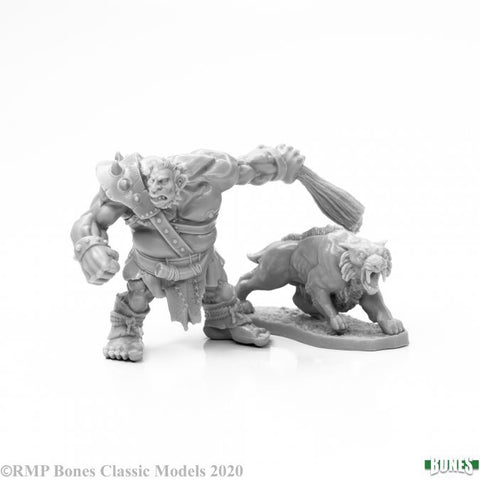 77939 - Hill Giant Hunter & Dire Lion (Reaper Bones) :www.mightylancergames.co.uk