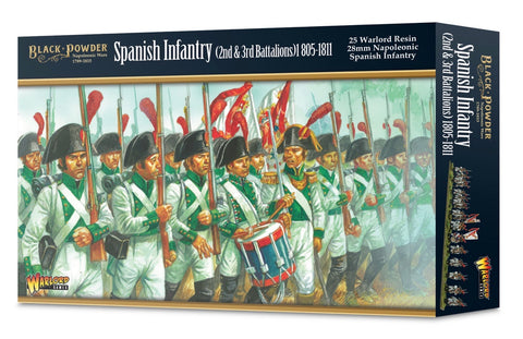 Napoleonic: Spanish Infantry (2nd & 3rd Battalions) 1805-1811