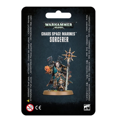 Chaos Space Marines Sorcerer (blister)