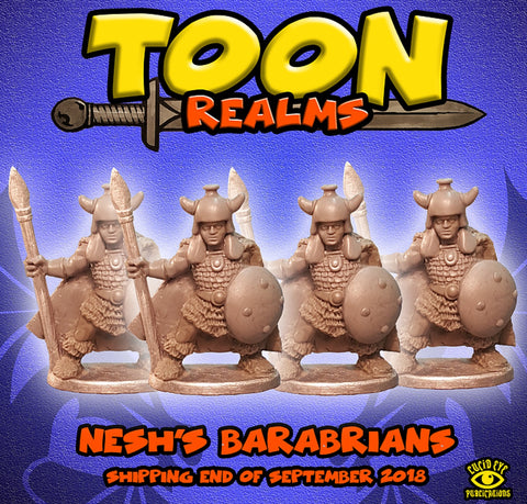 Nesh's Barbarians - Toon Realms: www.mightylancergames.co.uk