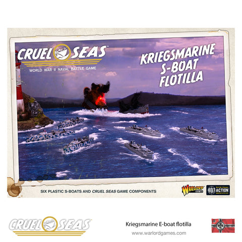 Cruel Seas - Kriegsmarine S-Boat Flotilla: www.mightylancergames.co.uk