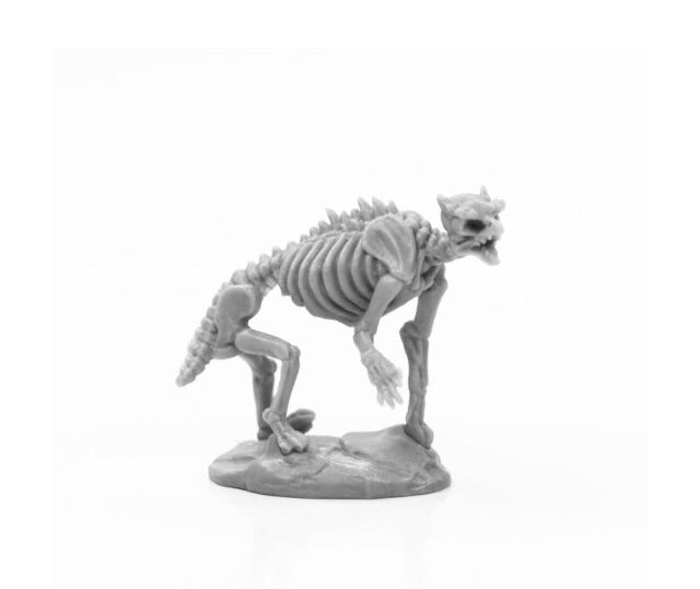77923 - Skeletal Owlbear (Reaper Bones) : www.mightylancergames.co.uk