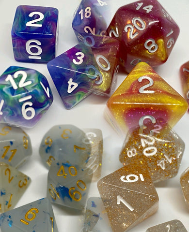 7 set rpg dice