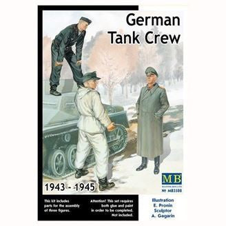 MasterBox 1/35 - Germany Tank Crew (1943-1945) kit No.2