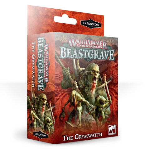 Warhammer Underworlds: Beastgrave – The Grymwatch Pre-order product that will ship on 12/10/2019