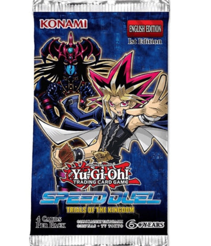 YU-GI-OH! SPEED DUELS - TRIALS OF THE KINGDOM BOOSTER PACK