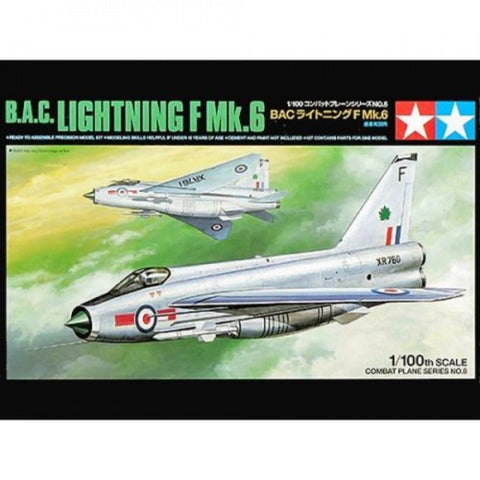 Tamiya 1/100 - B.A.C Lightning F Mk 6 LTD: www.mightylancergames.co.uk