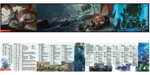 Of Ships and the Sea - D&D Dungeon Masters Screen (D&D 5th Edition): www.mightylancergames.co.uk